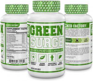 Green Surge Wheatgrass Pills