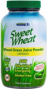 Sweet Wheat Organic Wheatgrass Pills