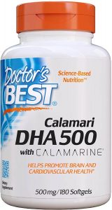 Doctor's Best DHA 500 with Calamarine