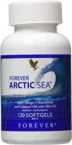 Forever Arctic-Sea super omega-3 natural fish calamari oils with olive oil
