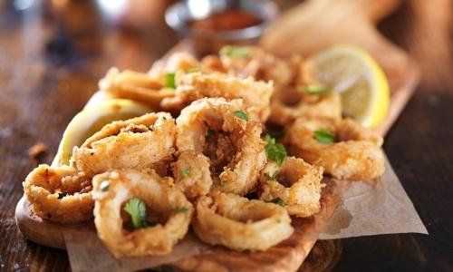 leftover calamari